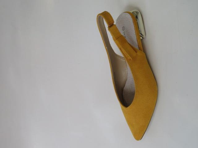 Czółenka Damskie GD-FL357, Yellow, 36-41