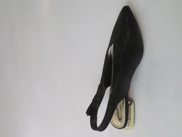 Czółenka Damskie GD-FL357, Black, 36-41
