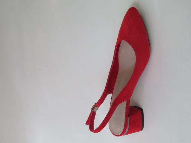 Czółenka Damskie GD-XR-104, Red, 36-41 3
