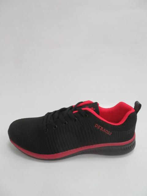 Sportowe Damskie 328-1, Black/Red, 36-41