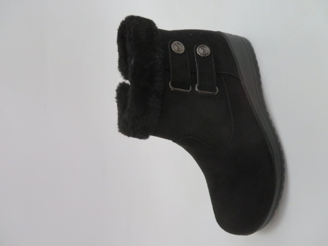 Botki Damskie W33-7, Black, 36-41