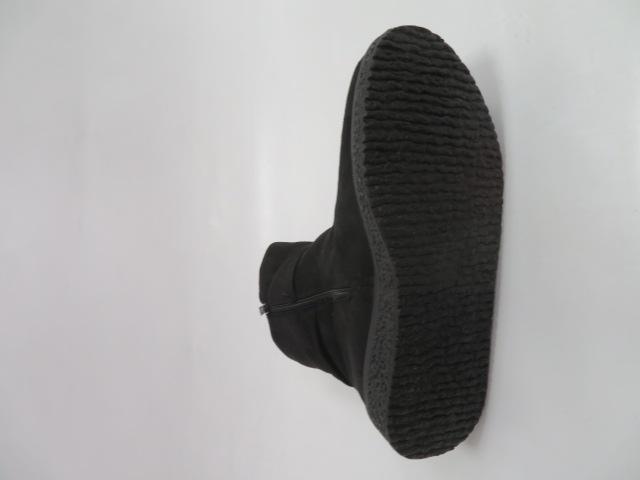 Botki Damskie J33-2C, Black, 36-41 4