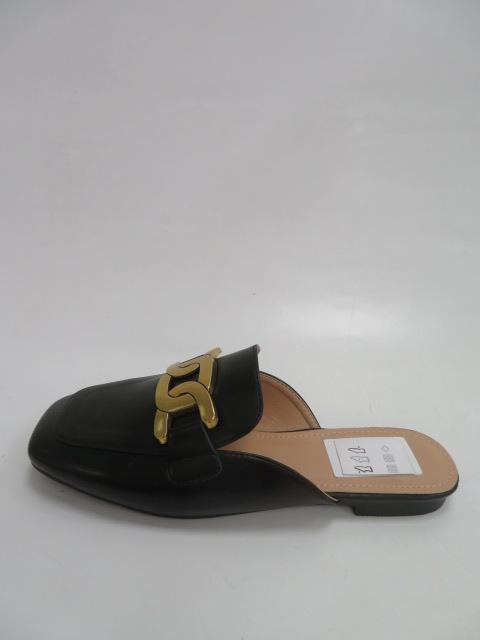 Klapki Damskie 456-2A, Black, 36-41