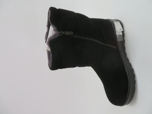 Botki Damskie W66-3, Black, 39-43 2