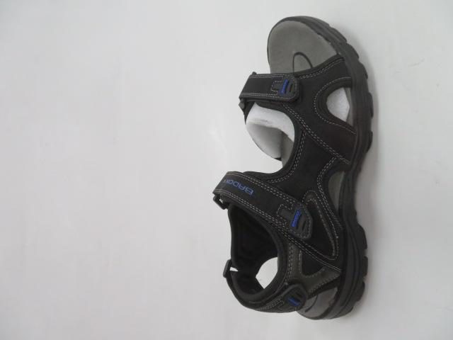 Sandały Męskie 9SD 9036, Black/Blue, 41-46