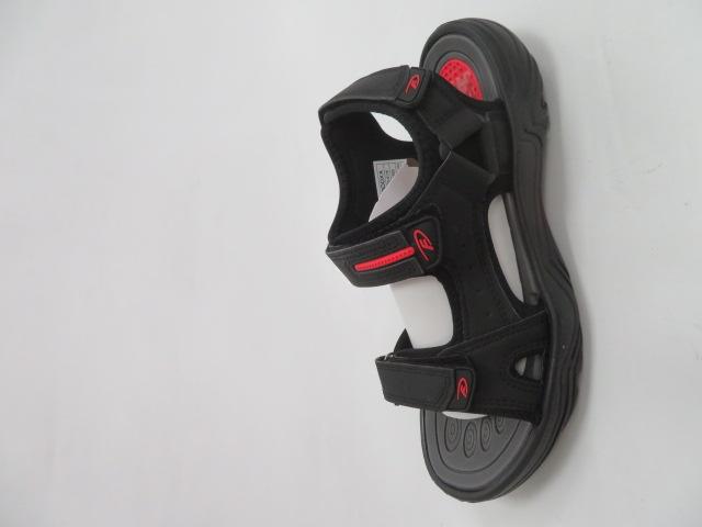 Sandały Męskie 9SD 9176, Black/Red, 40-45