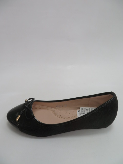 Baleriny Damskie H817-7, Black, 36-41