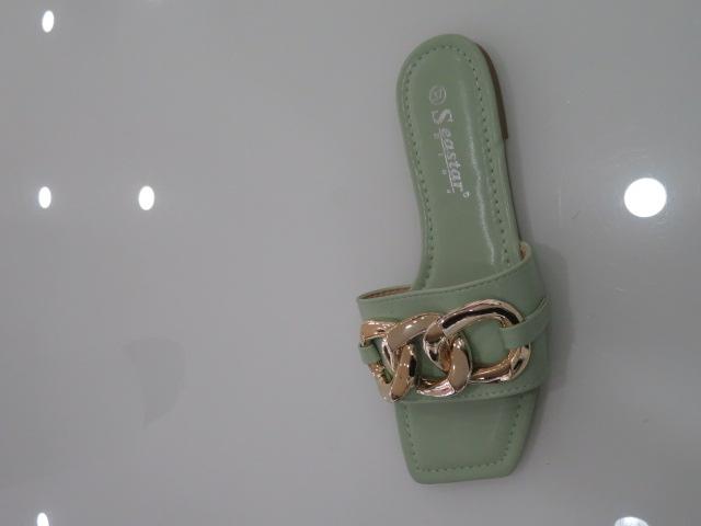 Klapki Damskie CK206, Green, 36-41