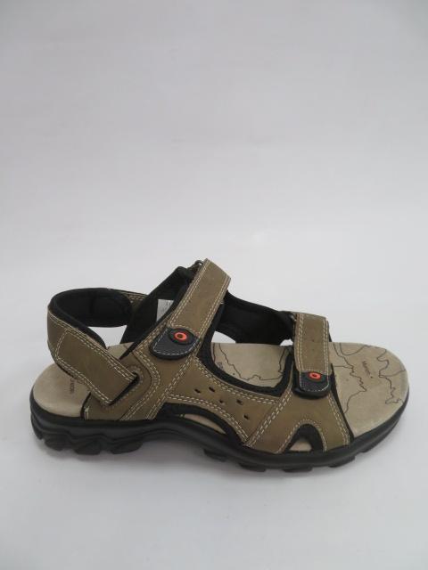 Sandały Męskie 7998-9, Khaki, 40-46