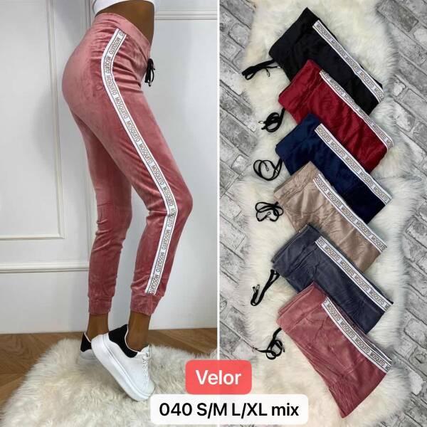 Spodnie Damskie 040 MIX KOLOR S/M-L/XL