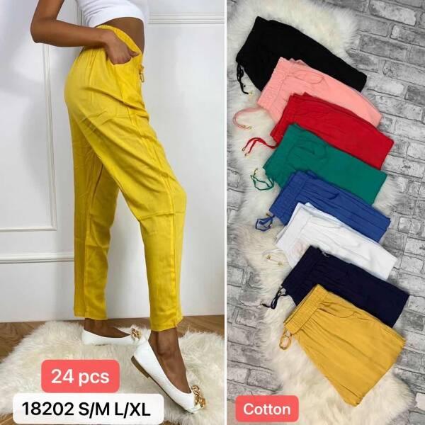 Spodnie Damskie 18202 MIX KOLOR S/M-L/XL