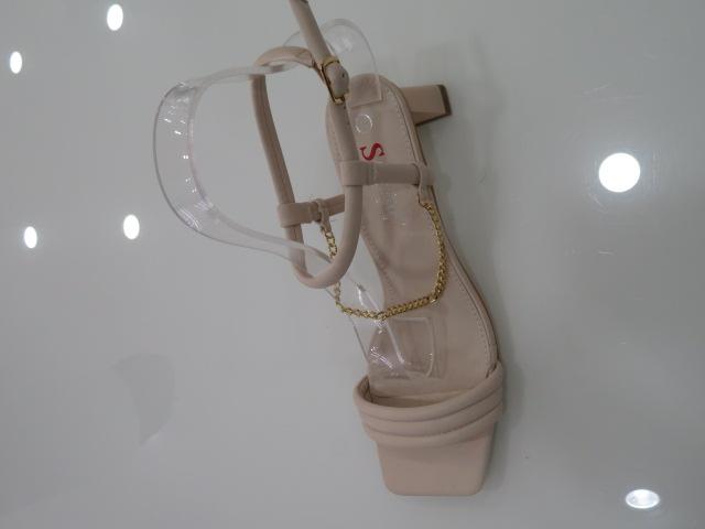 Sandały Damskie T386, Beige, 36-41