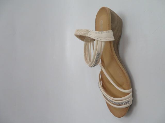 Sandały Damskie W119, Beige, 36-41
