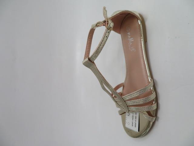Sandały Damskie MS0024, Gold, 36-41