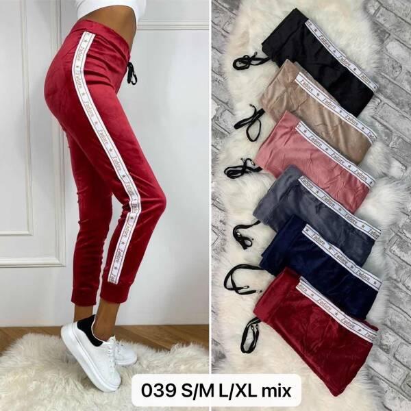 Spodnie Damskie 039 MIX KOLOR S/M-L/XL