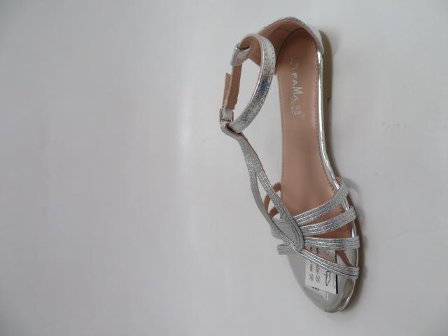 Sandały Damskie MS0024, Silver, 36-41