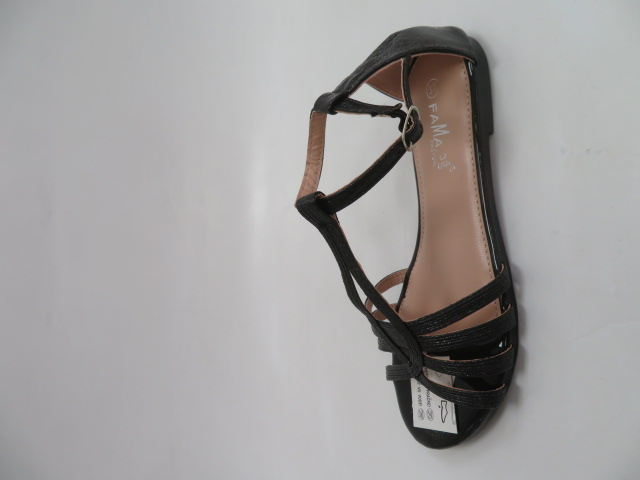 Sandały Damskie MS0024, Black, 36-41