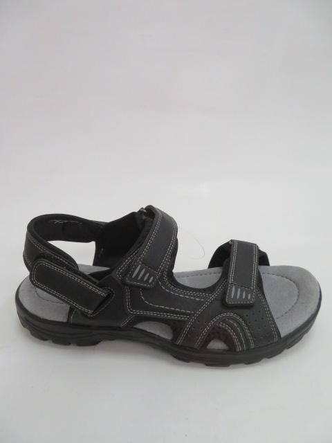 Sandały Męskie OK1-1, Black, 40-46