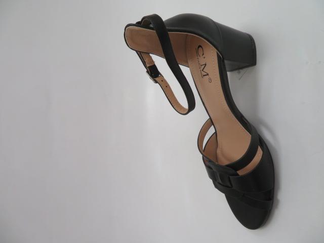 Sandały Damskie 372-5, Black, 36-41