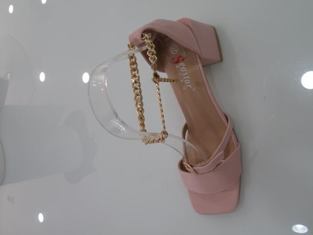 Sandały Damskie T385, Pink, 36-41