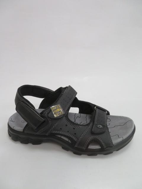 Sandały Męskie 8627, Black, 40-46