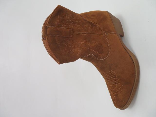 Botki Damskie G-7683, Camel, 36-41