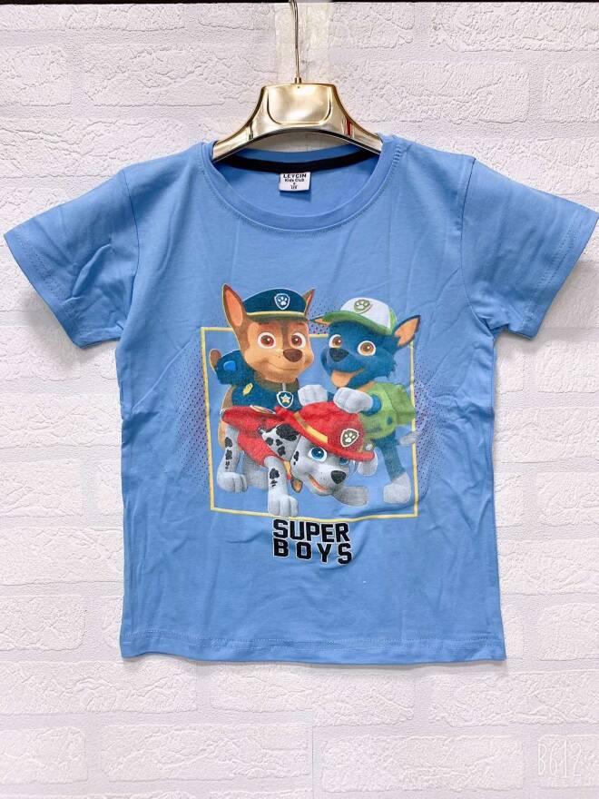 Bluzka Chłopieca F1701 MIX KOLOR 4-8 4