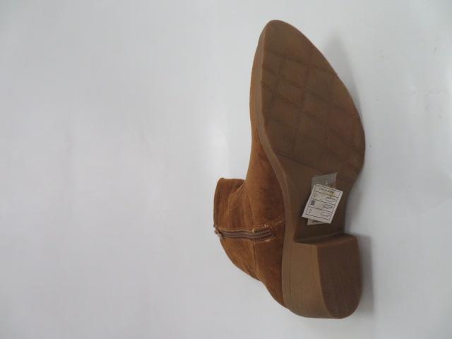 Botki Damskie G-7683, Camel, 36-41 3