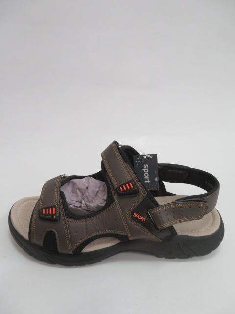 Sandały Męskie A5512-4, Brown, 41-46
