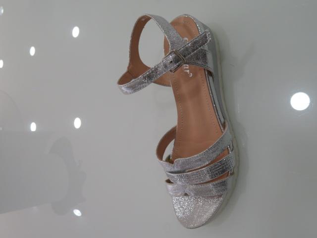 Sandały Damskie  NS113, Silver, 36-41