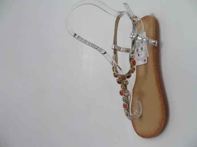 Sandały Damskie H8-70, Silver, 36-41 1