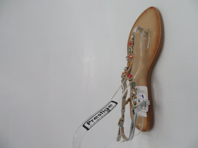 Sandały Damskie H8-70, Silver, 36-41 2