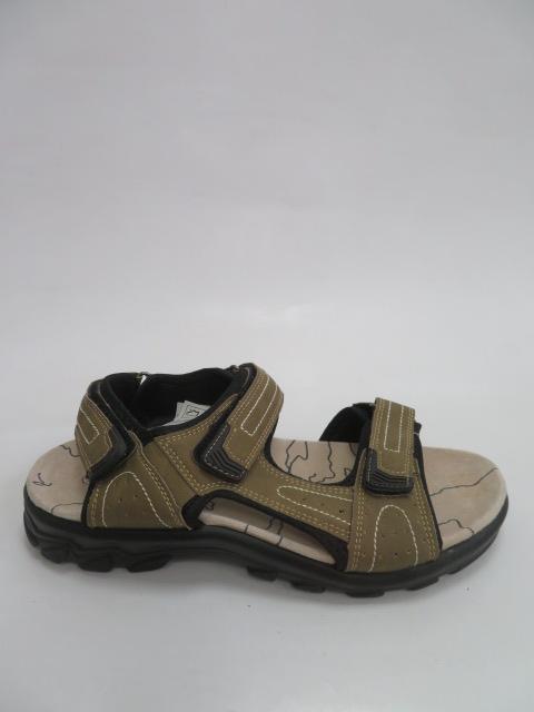 Sandały Męskie K8-101, Khaki, 40-46