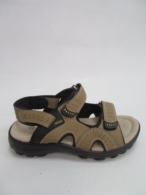 Sandały Męskie 9103-5, Beige, 40-46