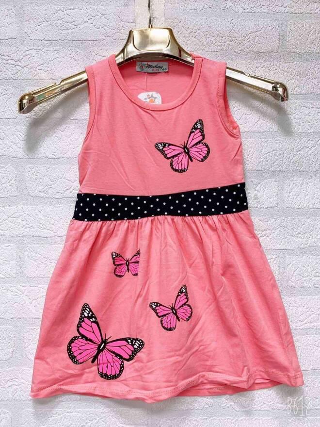 Sukienka Dziecięca F1786 MIX KOLOR 9-12