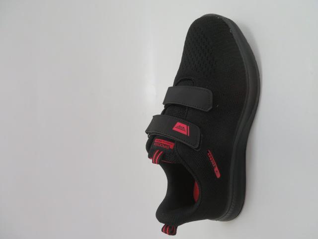 Sportowe Damskie LXC 8217, Black/Red, 36-41