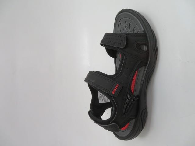 Sandały Damskie 7SD9157, Black/Red , 36-41
