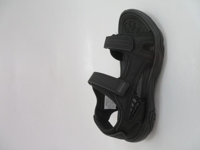 Sandały Damskie  7SD9157, Black/Grey, 36-41