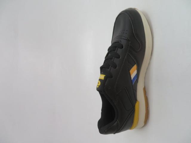 Buty Sportowe Dziecięce 188-5, Black/Yellow , 30-35 3
