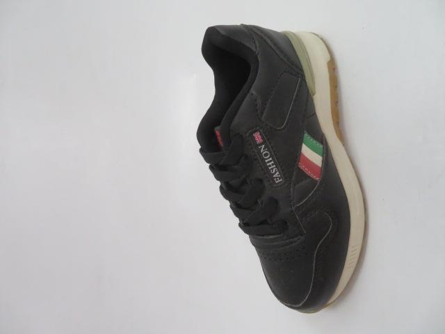 Buty Sportowe Dziecięce 188-2, Black/Khaki, 30-35