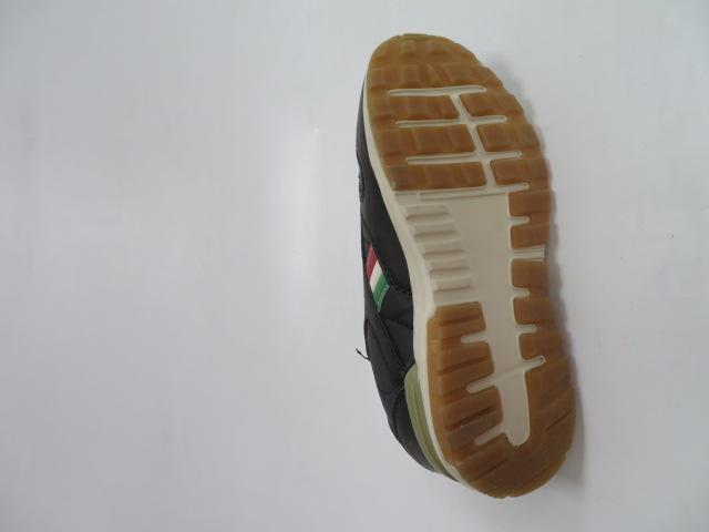 Buty Sportowe Dziecięce 188-2, Black/Khaki, 30-35 3