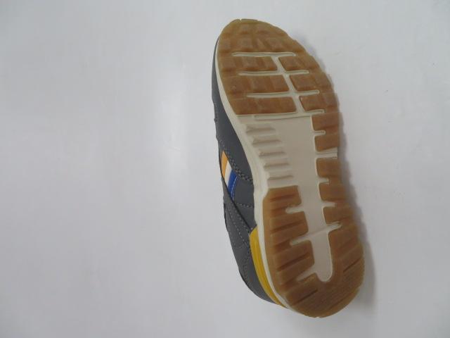 Buty Sportowe Dziecięce 188-1, Grey/Yellow , 30-35 3