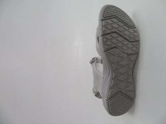 Sandały Damskie 7SD 9170, Grey/Grey, 36-41 3