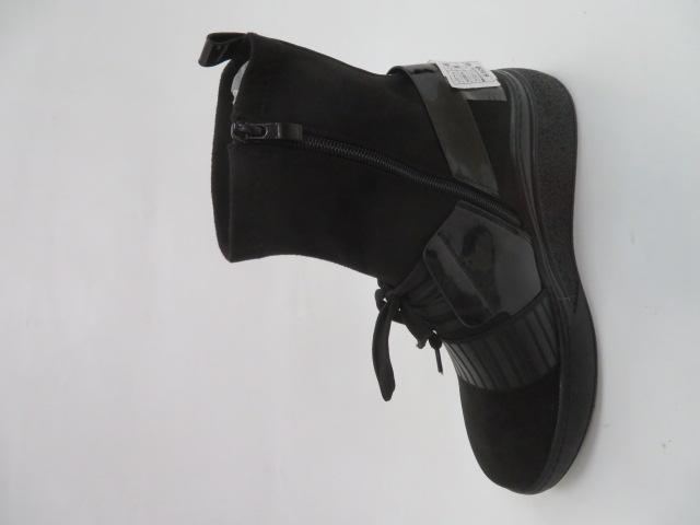 Botki Damskie AA155-1, Black, 36-41 2