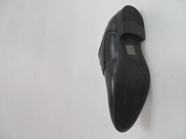 Półbuty Męskie MXC 455, Black/Black, 40-45 3