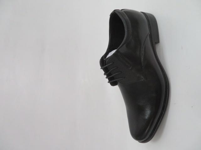 Półbuty Męskie  MXC 401, Black/Black, 40-45