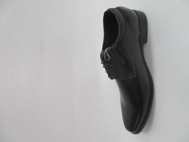 Półbuty Męskie MXC401, Black/Blue, 40-45 2