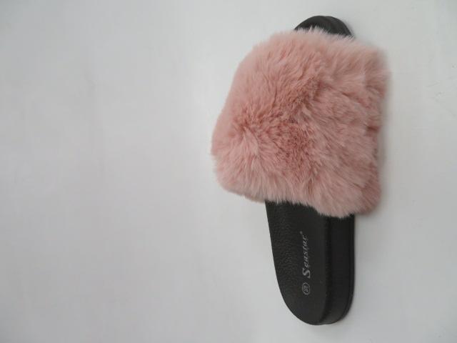 Klapki Damskie WB02, Pink , 36-41 2