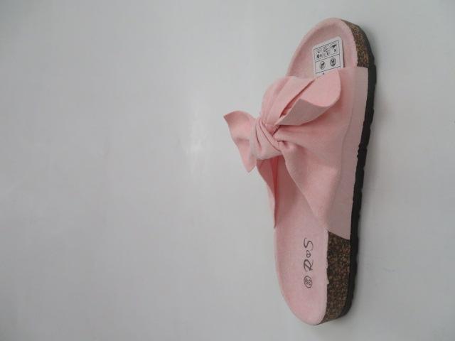 Klapki Damskie FF-005, L.Pink, 36-41 2