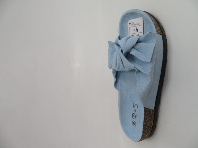 Klapki Damskie FF-005,Blue, 36-41